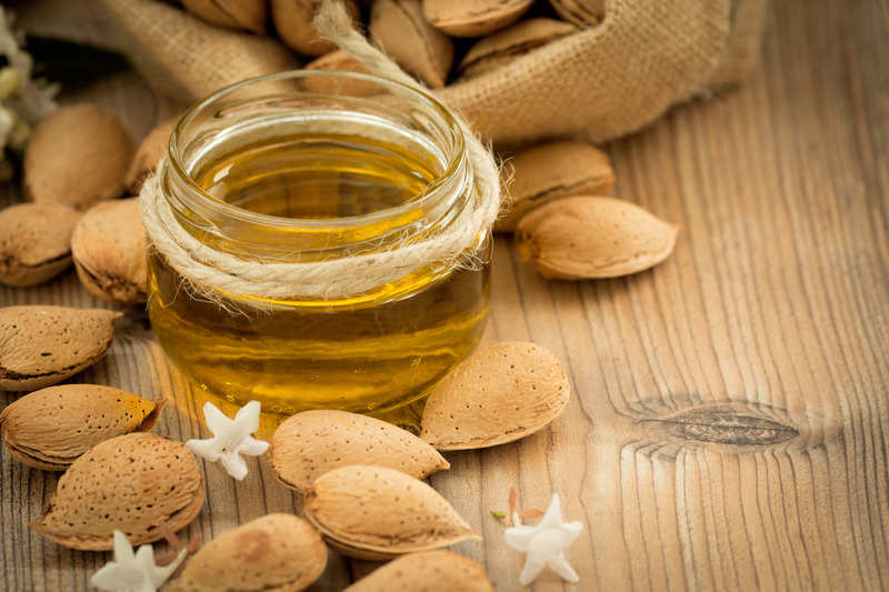 sweet almond oil - carrier oils